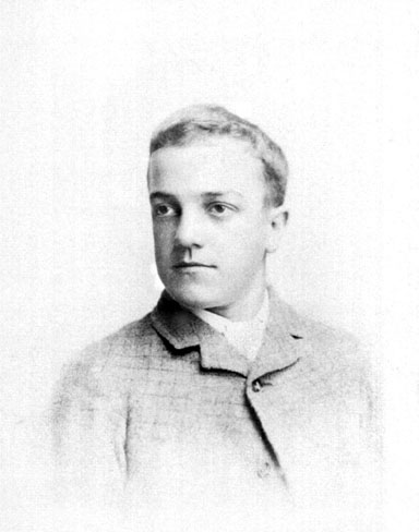 William Junior as a teen